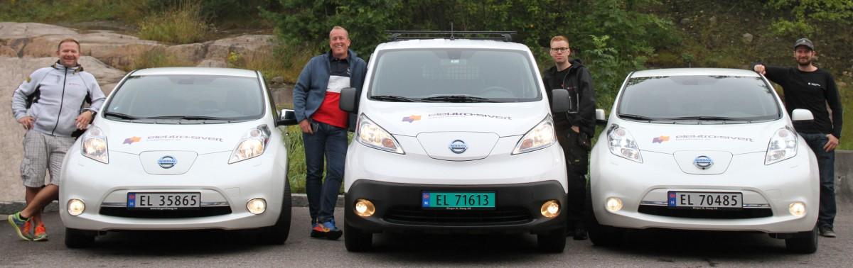 Elektro-Sivert Grønne varebiler i farta