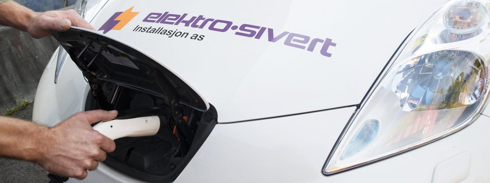Elbil ladeplugg Elektro-Sivert