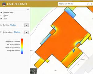 Elektro-Sivert Rommen solkart Oslo kommune