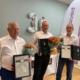 Medaljemottakere 30 år Klaus- Rune- Ståle