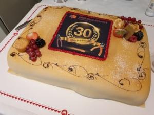 Jubileum 30 år - Kake